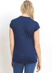 Tulip Top in Navy