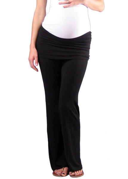 Yogi Knit Pant in Black