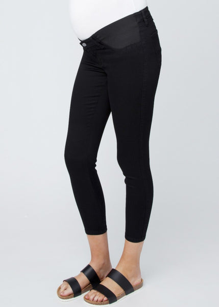 Isla Ankle Jegging in Black