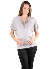 Maternity Tops - Cecyy Top in Black Dot
