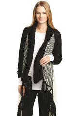 Cardigan With Fringe