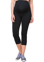 Crossover Active Pant Capri in Black