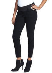 Skinny Ankle Jeans in Black
