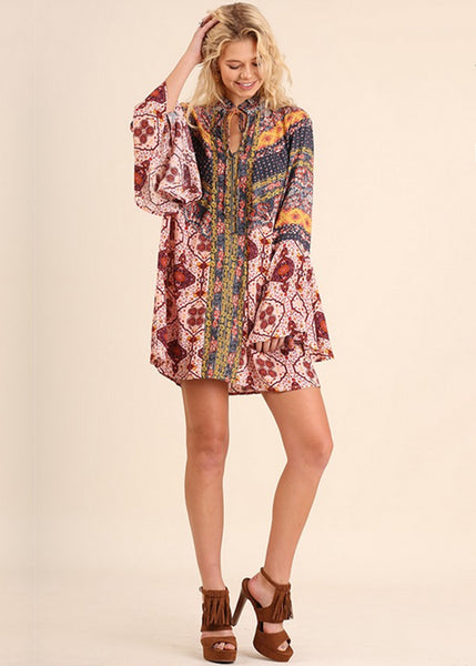 Bell Sleeve Tunic/Dress