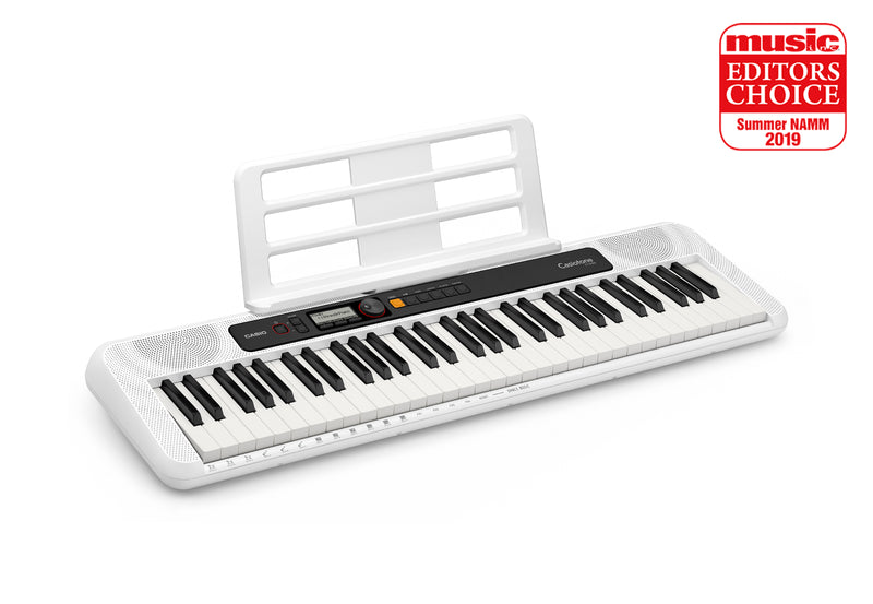 Casiotone CT-S200 - Basic Electronic Music Keyboard for beginners. Lightweight, portable & stylish.