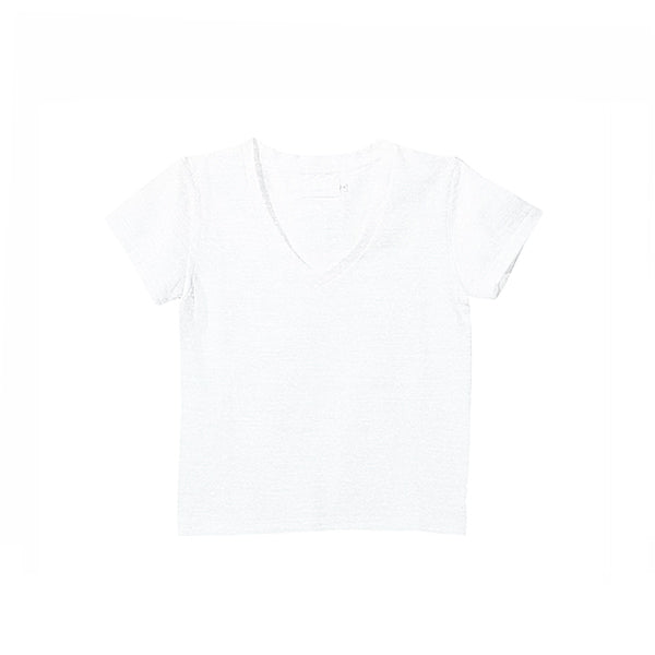 Load image into Gallery viewer, S 吊り天竺丸胴 V-neck Tee