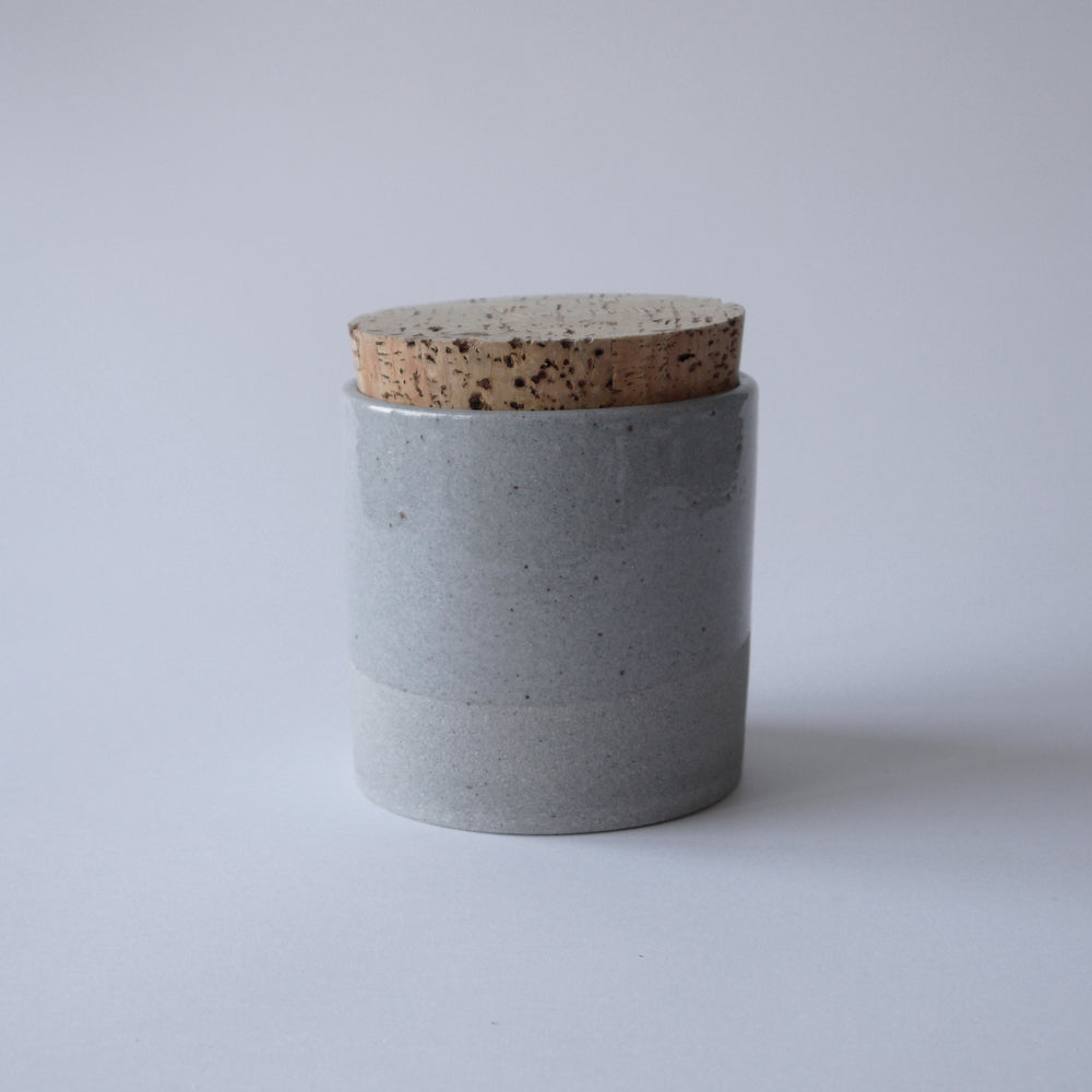 Load image into Gallery viewer, HUMBLE CERAMICS Canister (L) Greystone&Clearsky