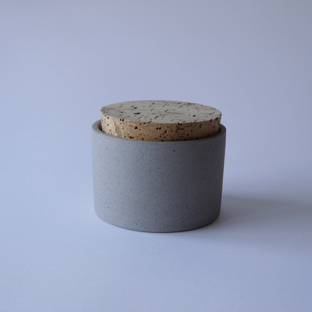 Load image into Gallery viewer, HUMBLE CERAMICS Canister(S) Granite&Snow