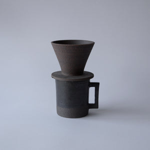 HUMBLE CERAMICS Tenshi Coffee Dripper Brownstone&Danish