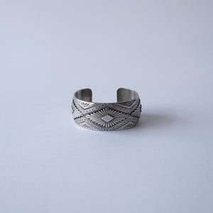 Load image into Gallery viewer, VINTAGE NAVAJO STERLING SILVER BRACELETS