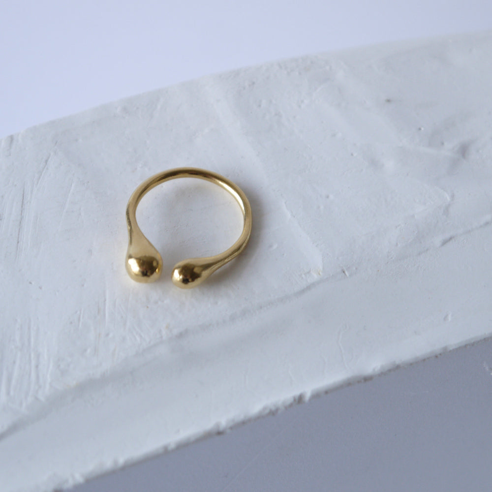 brillpiece bulb ring (GOLD)