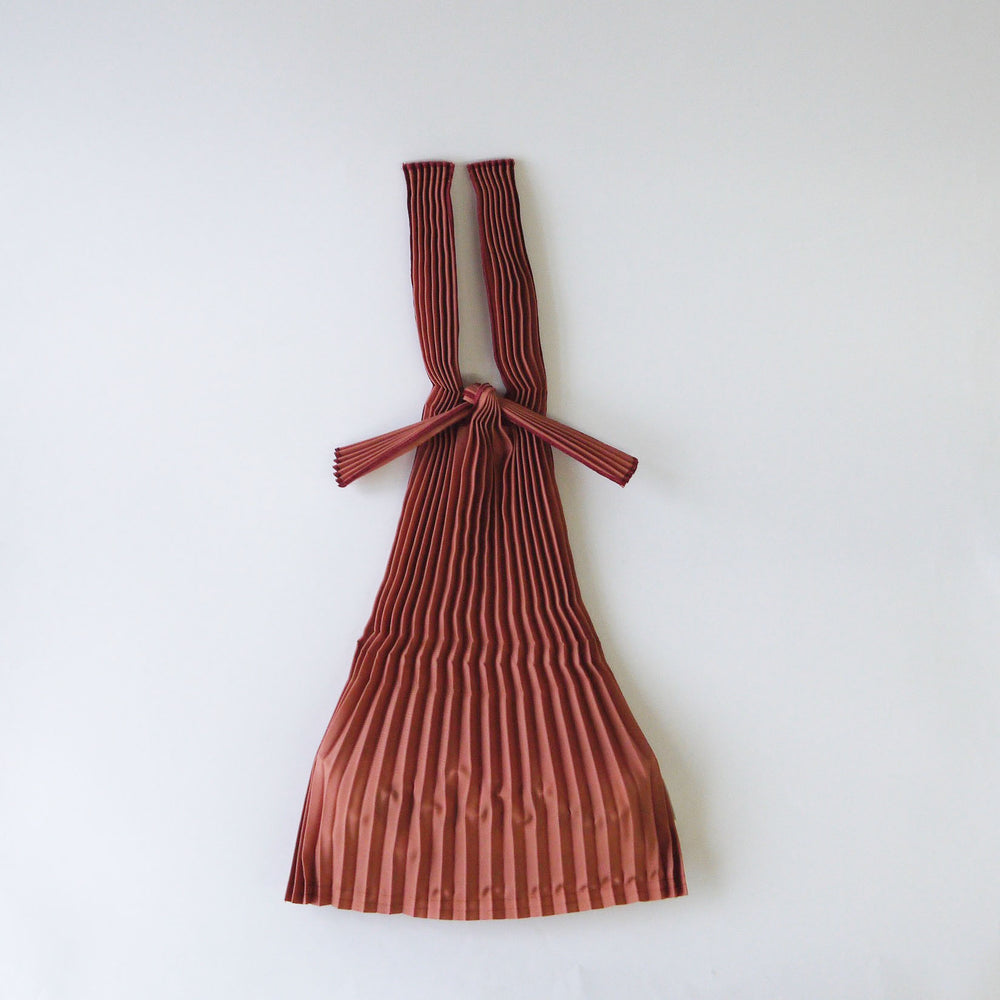Load image into Gallery viewer, knaplus PLECO TATE PLEATS S 煉瓦色 (brick red)