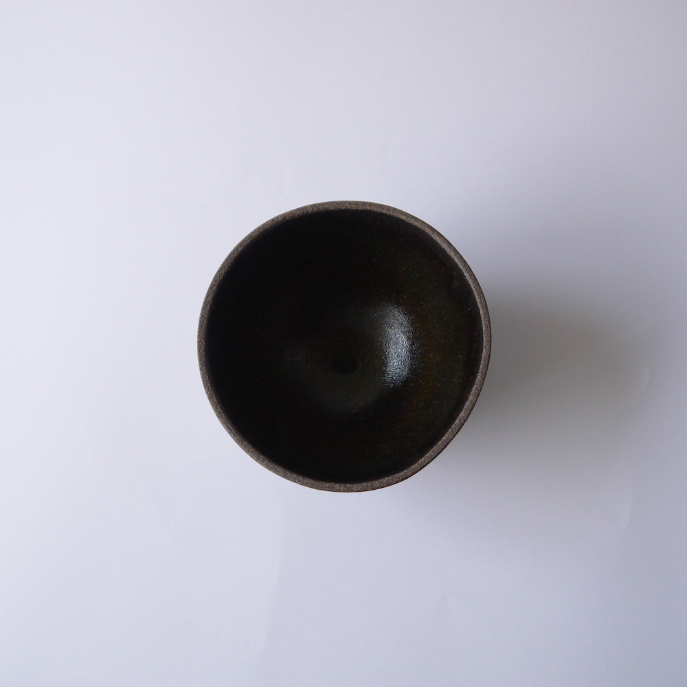 HUMBLE CERAMICS Enoki Bowl Brownstone&Midnight Glow