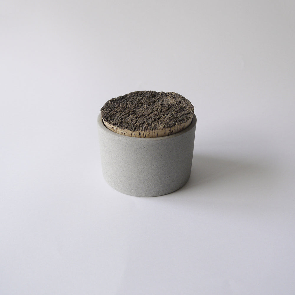 Load image into Gallery viewer, HUMBLE CERAMICS Canister(M) Granite&Clear