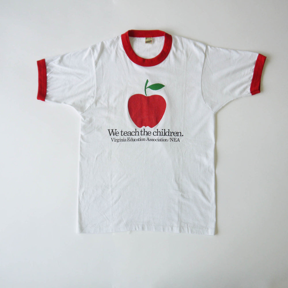 Vintage We Teach The Children T Shirt