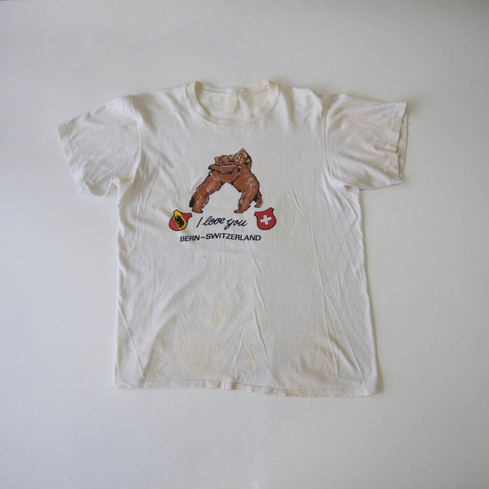 Vintage I Love You Bears T Shirt
