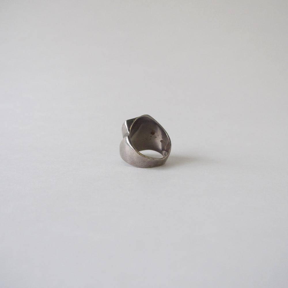Vintage Mexican Modernist Sterling Ring