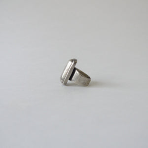 Load image into Gallery viewer, Vintage Mexico Sterling Silver Large Ring I