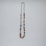 Vintage Native American Heishi Multi Stone Beaded Necklace