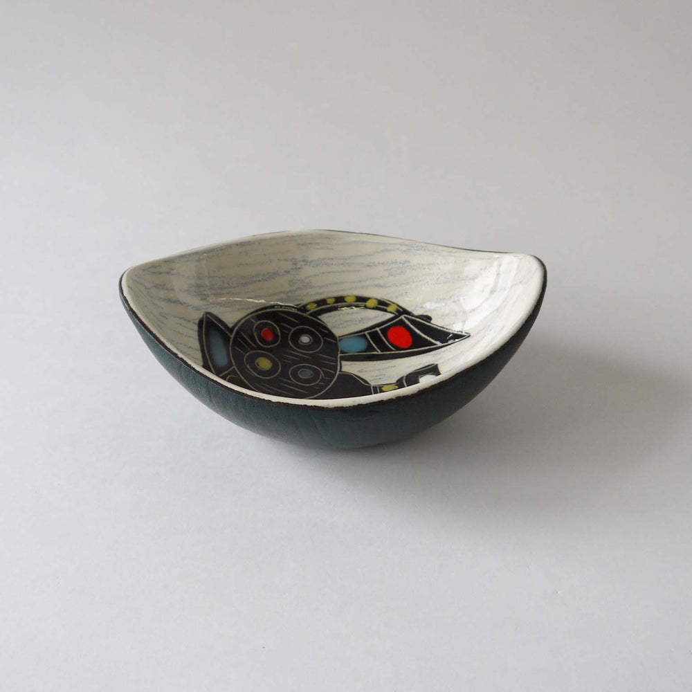 Load image into Gallery viewer, 1960-70's Vintage  Italy ceramic bowl