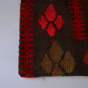 Load image into Gallery viewer, Vintage kilim pillow cover B