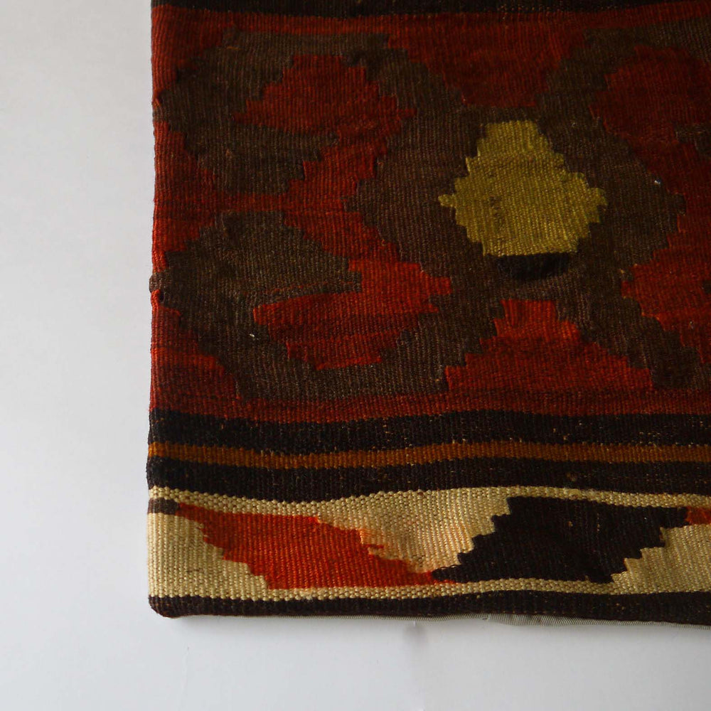 Load image into Gallery viewer, vintage kilim pillow cover Q