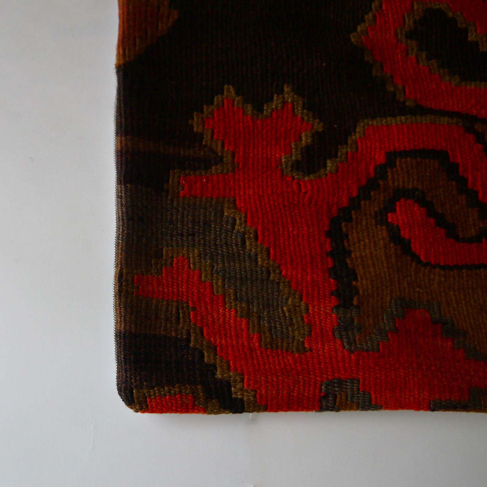 Vintage kilim pillow cover A