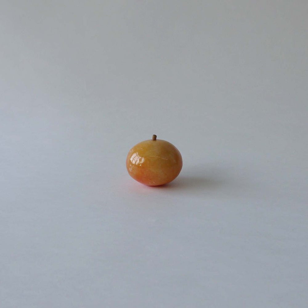 Vintage Carved Alabaster Fruit - H