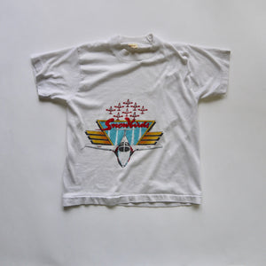vintage kids 1980s Canadian Air Force snowbirds graphic tee