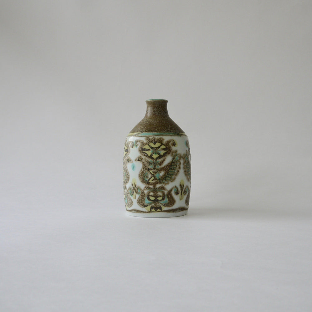 1960's Vintage Royal Copenhagen BACA beautiful ceramic vase designed by Nils Thorsson
