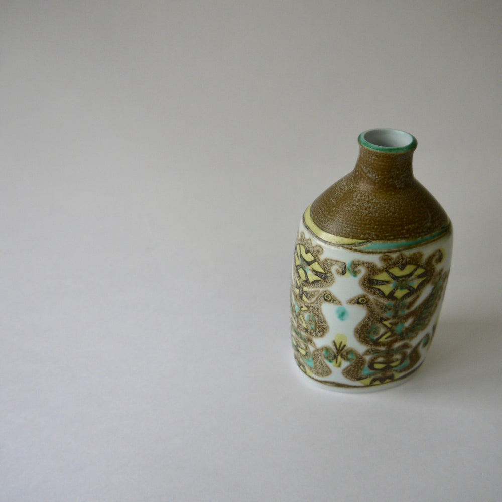 Load image into Gallery viewer, 1960's Vintage Royal Copenhagen BACA beautiful ceramic vase designed by Nils Thorsson