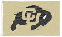 Load image into Gallery viewer, Colorado - Buffaloes Gold 3x5 Flag