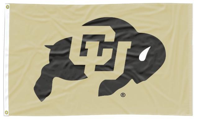Colorado - Buffaloes Gold 3x5 Flag