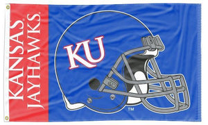 Kansas - Jayhawks Football 3x5 Flag