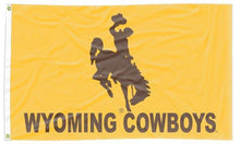 Load image into Gallery viewer, Wyoming - Cowboys 3x5 Flag