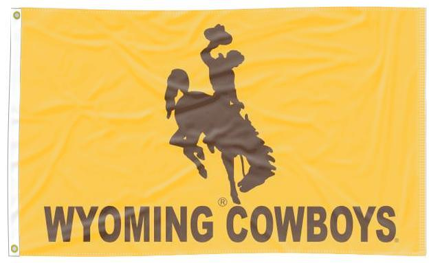 Wyoming - Cowboys 3x5 Flag
