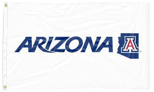 Arizona - Wildcats State White 3x5 Flag