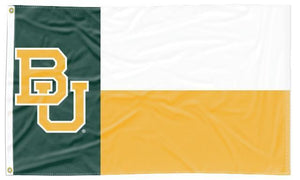 Baylor - State of Texas 3x5 Flag