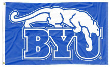 Load image into Gallery viewer, BYU - Cougar Blue 3x5 Flag