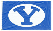 Load image into Gallery viewer, BYU - Cougars Royal Blue 3x5 Flag