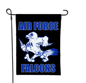 Air Force Academy - Air Force Falcons Black Garden Flag