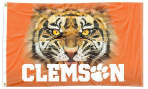 Clemson - Tiger Eyes 3x5 Flag