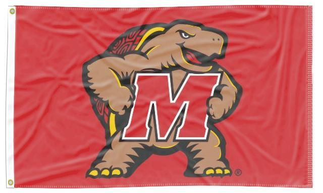 Maryland - Terrapin Red 3x5 Flag