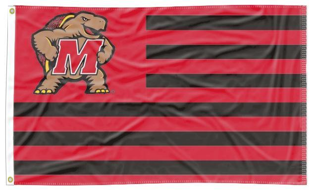 Maryland - Terrapins National 3x5 Flag