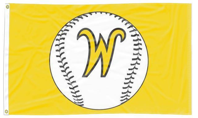 Wichita State - Shockers Baseball 3x5 Flag