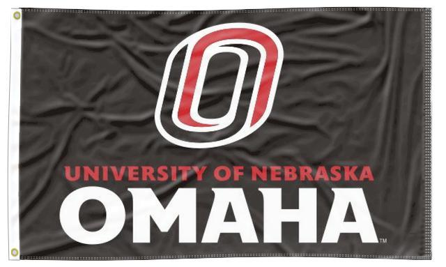 UNO - Mavericks Black 3x5 Flag