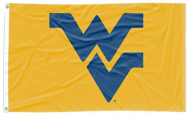 West Virginia - Mountaineers Gold 3x5 Applique Flag