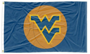 West Virginia - Mountaineers Basketball 3x5 Flag