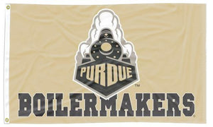 Purdue - Boilermakers Gold 3x5 Flag