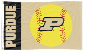 Purdue - Boilermakers Softball 3x5 Flag
